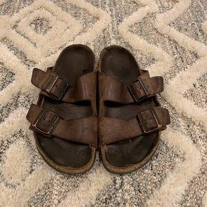 Birkenstock Brown Leather